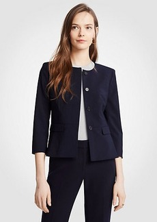 Ann Taylor Seasonless Peplum Jacket