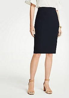 Ann Taylor Seamed Pencil Skirt in Seasonless Stretch