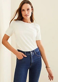 Ann Taylor Seasonless Yarn Sweater Tee