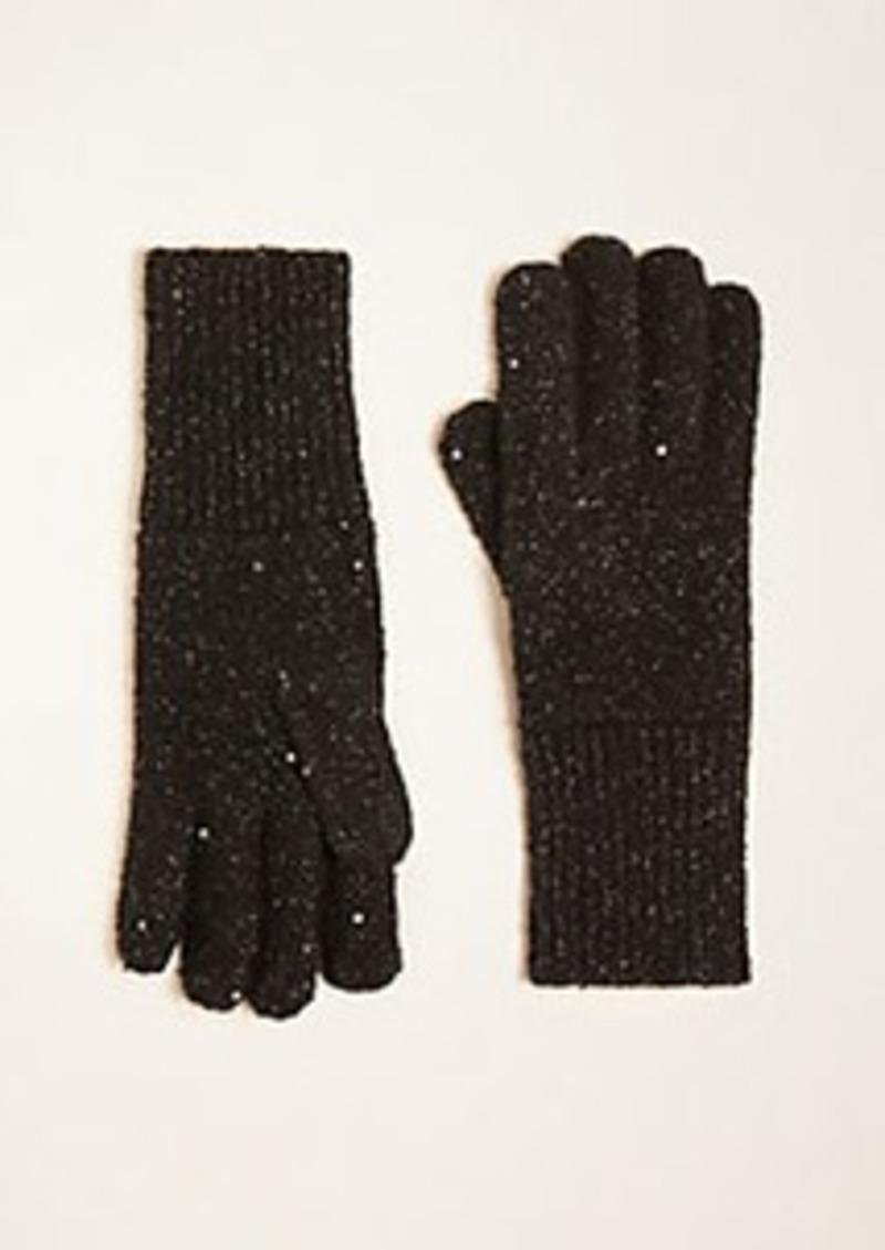 Ann Taylor Sequin Shimmer Gloves