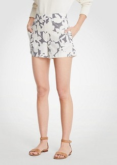 Ann Taylor Shadowed Floral Shorts