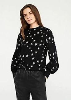 Ann Taylor Shimmer Star Sweater