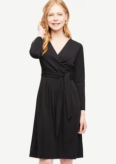 Shirred Side Tie Dress