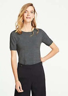 Ann Taylor Short Sleeve Sweater Tee