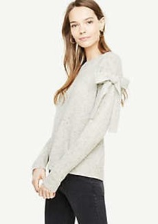 Ann Taylor Shoulder Tie Sweater