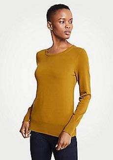 Ann Taylor Side Button Sweater