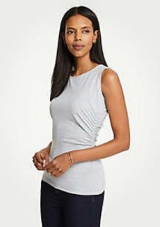 Ann Taylor Side Ruched Knit Tank