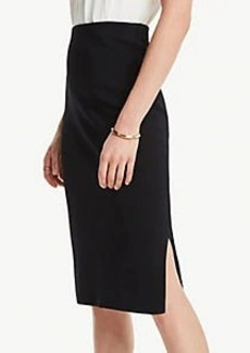 Ann Taylor Side Slit Sweater Skirt