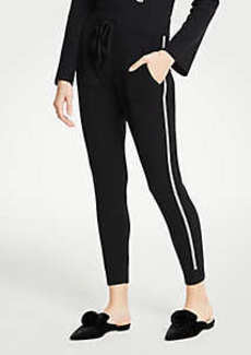 Ann Taylor Side Stripe Joggers