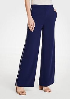 Ann Taylor Side Stripe Track Pants