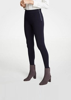 Ann Taylor Side Zip Leggings