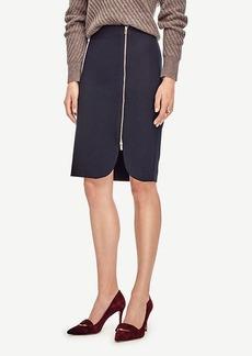 Ann Taylor Side Zip Pencil Skirt