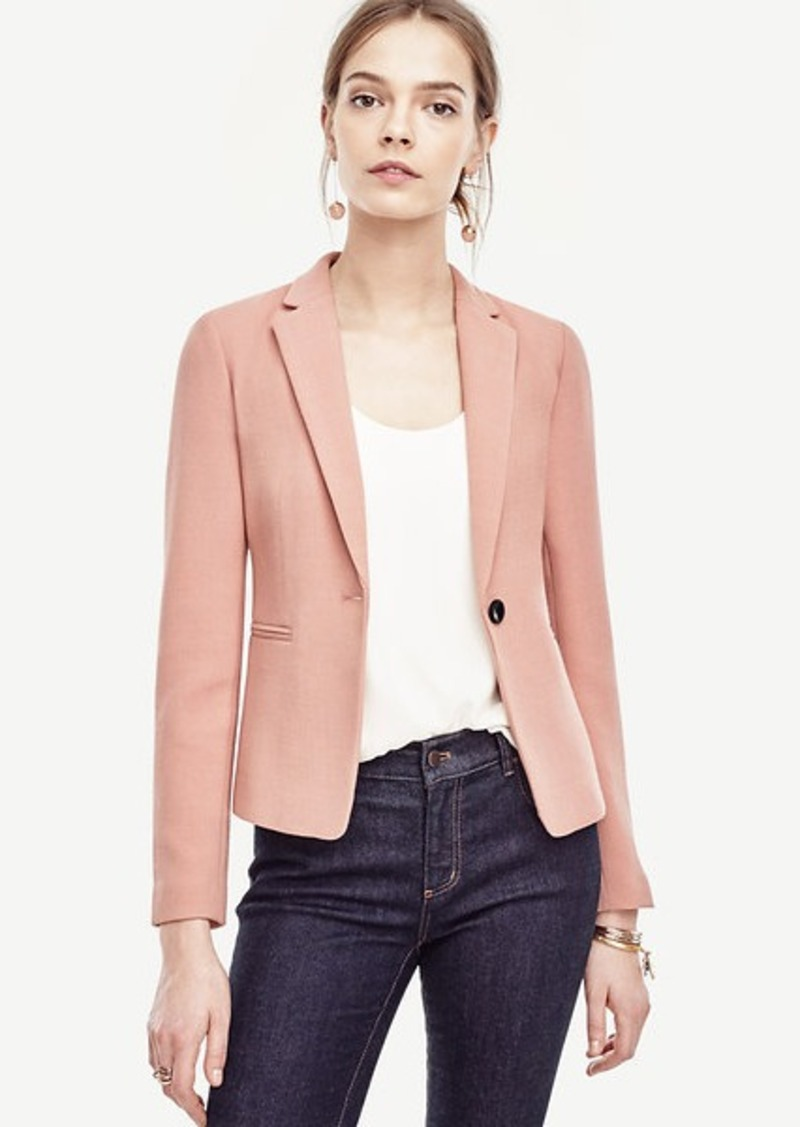 Ann Taylor Single Button Blazer