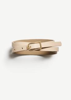 Ann Taylor Skinny Leather Belt