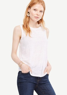 Sleeveless Linen Sunday Tee