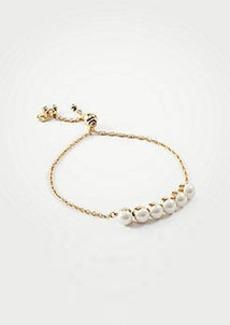 Ann Taylor Slider Bracelet