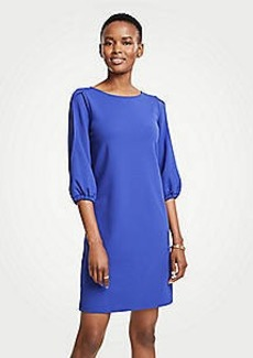 Ann Taylor Slit Sleeve Shift Dress