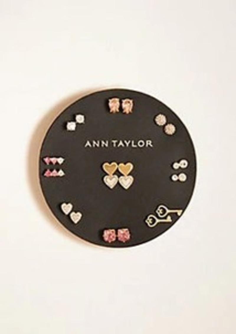 Ann Taylor Sparkle Stud Set