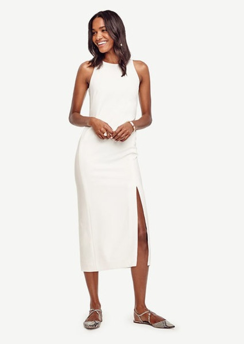 Ann Taylor Split Column Dress