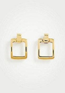 Ann Taylor Square Metallic Earrings