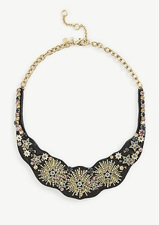 Ann Taylor Stellar Fabric Statement Necklace