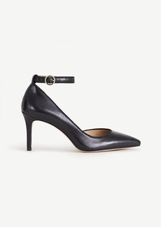 Ann Taylor Stephania Leather D'Orsay Pumps
