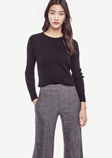 Ann Taylor Stitch Ribbed Sweater