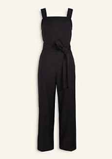 Ann Taylor Stitched Belted Jumpsuit