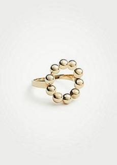 Ann Taylor Stone Circle Ring