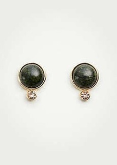 Ann Taylor Stone Crystal Stud Earrings