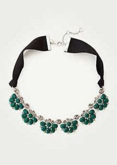 Ann Taylor Stone Statement Necklace
