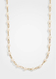 Ann Taylor Stone Station Necklace