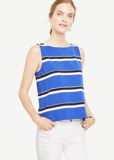 Striped Boatneck Shell
