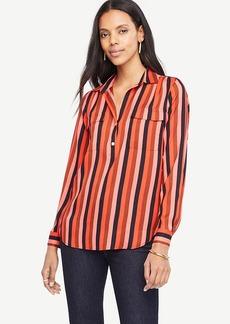 Striped Camp Shirt