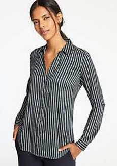 Ann Taylor Striped Essential Shirt