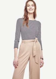Striped Ponte Top