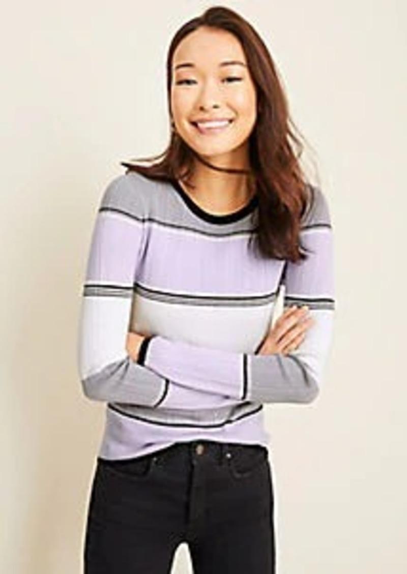 Ann Taylor Striped Sweater