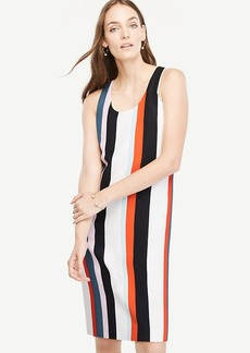Striped Tank Shift Dress