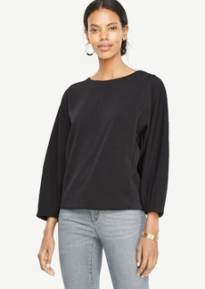 Structured Dolman Top