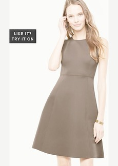 Ann Taylor Structured Fit and Flare Dress