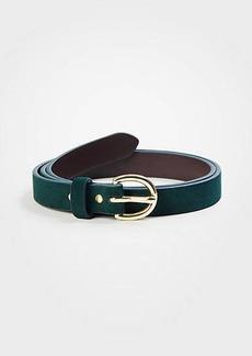 Ann Taylor Suede Trouser Belt