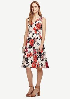 Sundrenched Floral Flare Dress