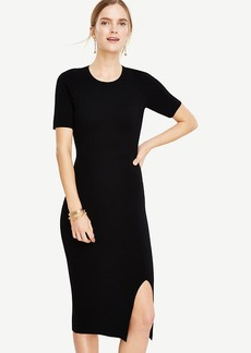 Sweater Sheath Dress
