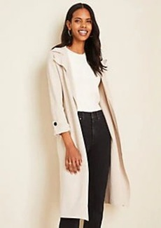 Ann Taylor Sweater Trench
