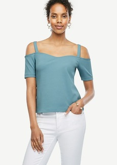 Sweetheart Off The Shoulder Top