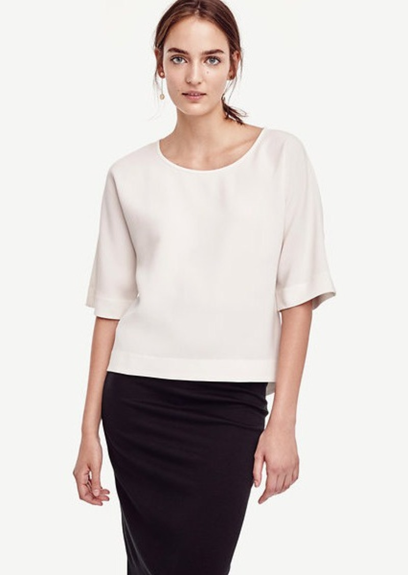 Ann Taylor Swing Sleeve Blouse