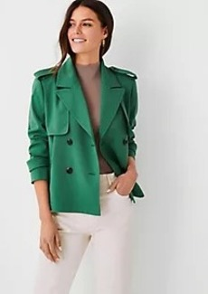 Ann Taylor Swing Trench Jacket