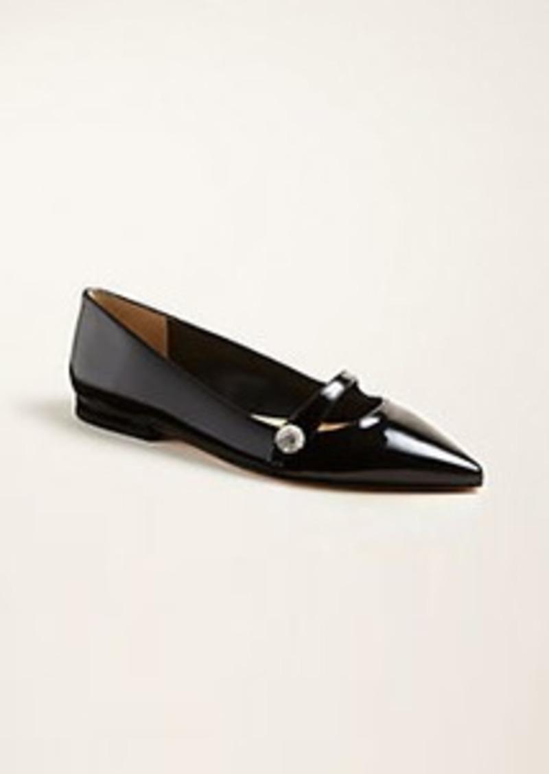 Ann Taylor Sylvan Leather Mary Jane Flats