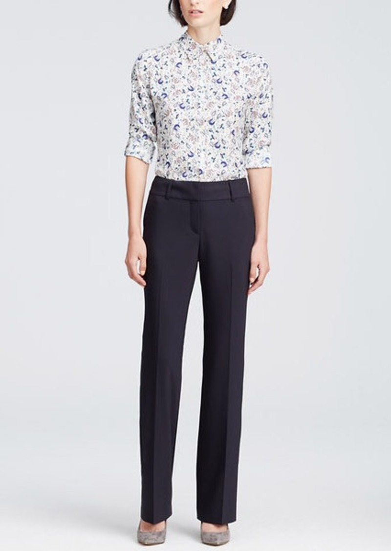 Ann Taylor Tall Ann Tropical Wool Trousers