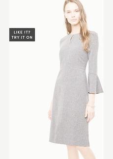 Tall Flare Sleeve Sheath Dress